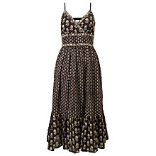 Buy East Anisha Strappy Sun Dress, Black Online at johnlewis.com
