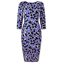 Buy Phase Eight Kata Spot Dress, Purple/Multi Online at johnlewis.com