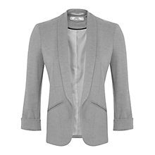 Buy Miss Selfridge Petites Blazer Jacket, Grey Marl Online at johnlewis.com