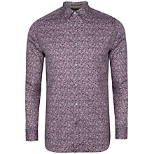 Buy Ted Baker Florall Floral Print Long Sleeve Shirt Online at johnlewis.com