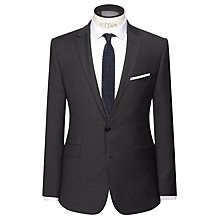 Buy Kin by John Lewis Riley Micro Check Slim Fit Suit Jacket, Charcoal Online at johnlewis.com