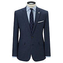 Buy John Lewis Birdseye Tailored Blazer, Indigo Online at johnlewis.com