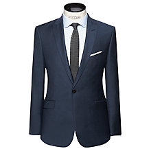 Buy Kin by John Lewis Boston Milled Twill Slim Fit Suit Jacket, Teal Online at johnlewis.com