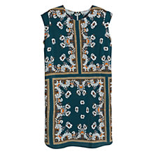 Buy Violeta by Mango Scarf Print Dress, Green Online at johnlewis.com