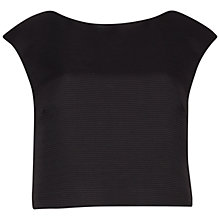 Buy Ted Baker Klowi Ribbed Crop Top Online at johnlewis.com