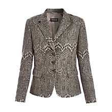Buy Betty Barclay Graphic Jacket, Grey Melange Online at johnlewis.com