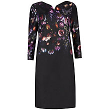 Buy Ted Baker Atieno Shadow Floral Tunic Dress, Mid Grey Online at johnlewis.com