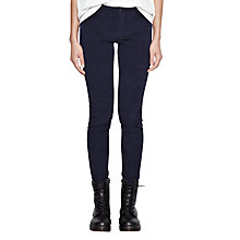 Buy French Connection Hendrix Velvet Jeans, Nocturnal Online at johnlewis.com