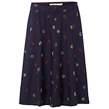 Buy White Stuff Akora Butterfly Skirt, Midnight Mauve Online at johnlewis.com