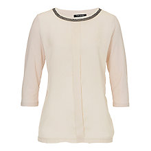 Buy Betty Barclay Long Stud Top, Light Almont Online at johnlewis.com