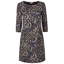 Buy White Stuff Autumn Leaves Dress, Midnight Mauve Online at johnlewis.com