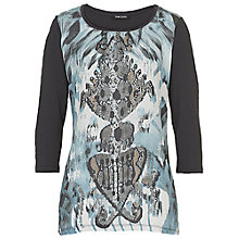 Buy Betty Barclay Graphic Print Stud Top, Multi Online at johnlewis.com
