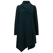Buy Phase Eight Bellona Waterfall Coat, Dark Forest Online at johnlewis.com