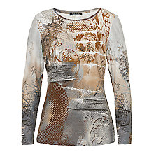 Buy Betty Barclay Graphic Print Top, Multi Online at johnlewis.com