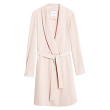 Buy Mango Flowy Trench Coat, Pastel Pink Online at johnlewis.com