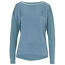 Buy Betty Barclay Satin Front Top, Smokey Mint Online at johnlewis.com