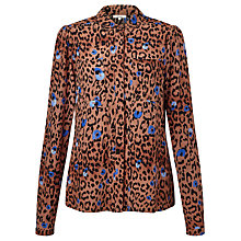 Buy Somerset by Alice Temperley Leopard Print Blouse, Multi Online at johnlewis.com