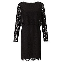 Buy Somerset by Alice Temperley Lace Dress, Black Online at johnlewis.com