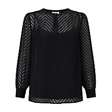 Buy Somerset by Alice Temperley Chevron Blouse Online at johnlewis.com