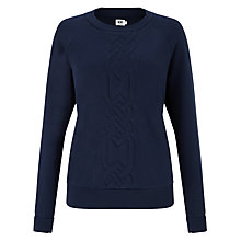 Buy Kin by John Lewis Cable Sweatshirt Online at johnlewis.com