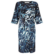 Buy John Lewis Capsule Collection Anna Digital Print Dress, Blue Online at johnlewis.com