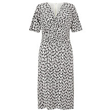 Buy John Lewis Capsule Collection Hattie Print Dress, Grey Multi Online at johnlewis.com