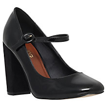 Buy Miss KG Carla Block Heeled Mary Jane Court Shoes, Black Online at johnlewis.com