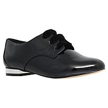 Buy Miss KG Minky Low Heeled Lace Up Brogues, Black Online at johnlewis.com