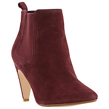 Buy Dune Olivv Suede Pointed Toe Ankle Boot Online at johnlewis.com
