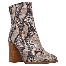 Buy Carvela Slither Block Heeled Ankle Boots Online at johnlewis.com