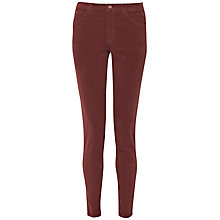 Buy French Connection Hendrix Velvet Jeans, Bitter Chestnut Online at johnlewis.com