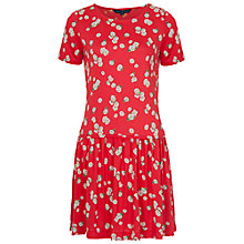 Buy French Connection Tropicana Dress, Havana Red Online at johnlewis.com