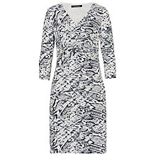 Buy Better Barclay Snake Print Jersey Dress, Grey Online at johnlewis.com