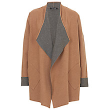 Buy Betty Barclay Knitted Cardigan, Camel/Grey Online at johnlewis.com