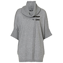 Buy Betty Barclay Wrap Jumper, Grey Online at johnlewis.com