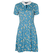 Buy French Connection Tropicana Daisy Dress, Niagara Blue Multi Online at johnlewis.com