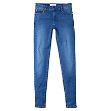 Buy Mango Skinny Elektra Jeans, Open Blue Online at johnlewis.com