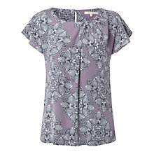Buy White Stuff Linear Bloom Top Online at johnlewis.com