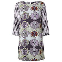 Buy White Stuff Butterfly Perfection Tunic Dress, Midnight Mauve Online at johnlewis.com