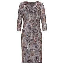 Buy Betty Barclay Cowl Neck Jersey Dress, Multi Online at johnlewis.com
