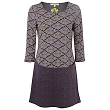 Buy White Stuff Locket Jersey Tunic, Midnight Mauve Online at johnlewis.com