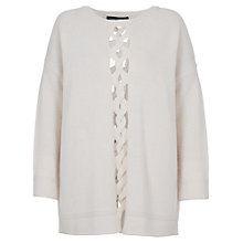 Buy French Connection Cable Long Sleeve Jumper Online at johnlewis.com