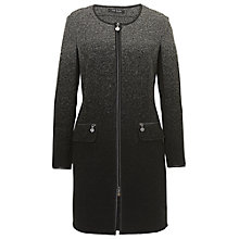 Buy Betty Barclay Wool Coat, Black/Grey Online at johnlewis.com
