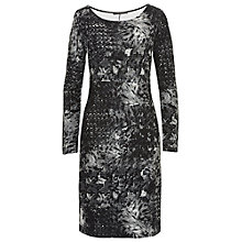 Buy Betty Barclay Graphic Print Dress, Grey Online at johnlewis.com