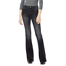 Buy Mango NewFlare Jeans, Open Grey Online at johnlewis.com