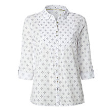 Buy White Stuff Flight Shirt, White Online at johnlewis.com