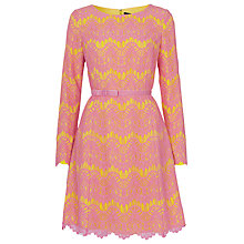 Buy French Connection Linea Lace Shift Dress Online at johnlewis.com