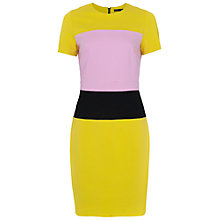 Buy French Connection Lula Block Colour Dress Online at johnlewis.com