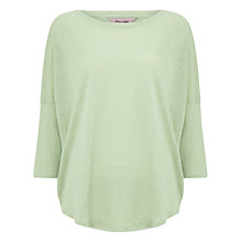 Buy Phase Eight Catrina Linen Top, Lime Online at johnlewis.com