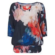 Buy Phase Eight Nadia Slub Top, Multi Online at johnlewis.com